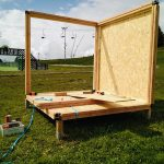 Mountain Games stand Woody Box