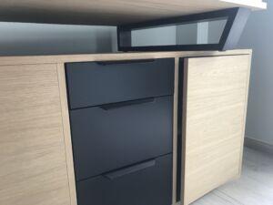 bureau en bois sur-mesure