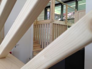 espace bureau en bois