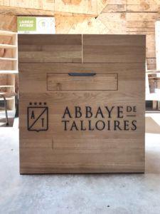 chariot à fromage abbaye de galloises